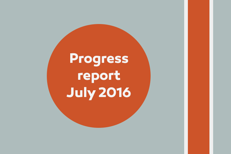 750X500 Progess Report July2016 News Thumb